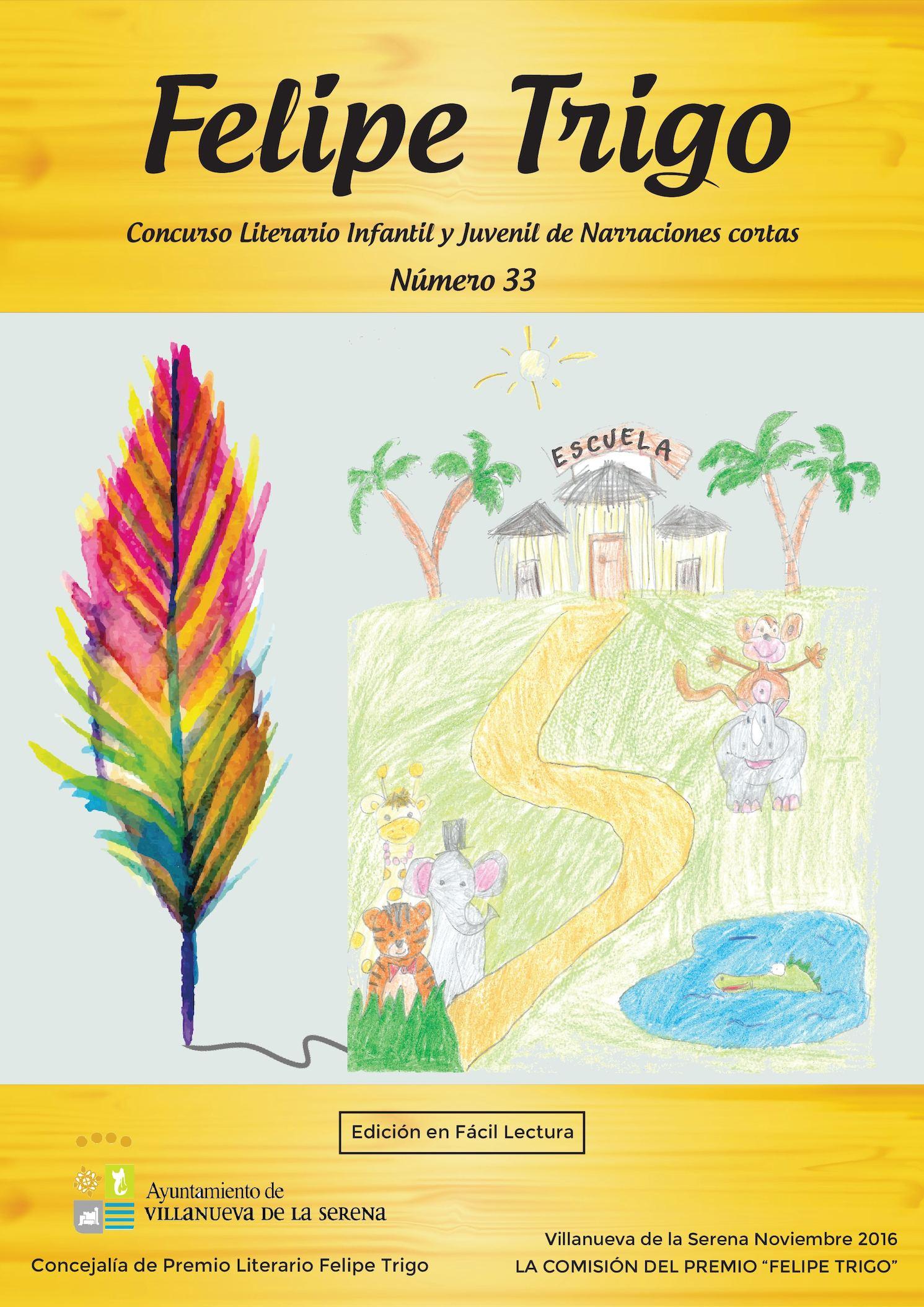 Calaméo Bases 33 Concurso Literario Felipe Trigo Infantil