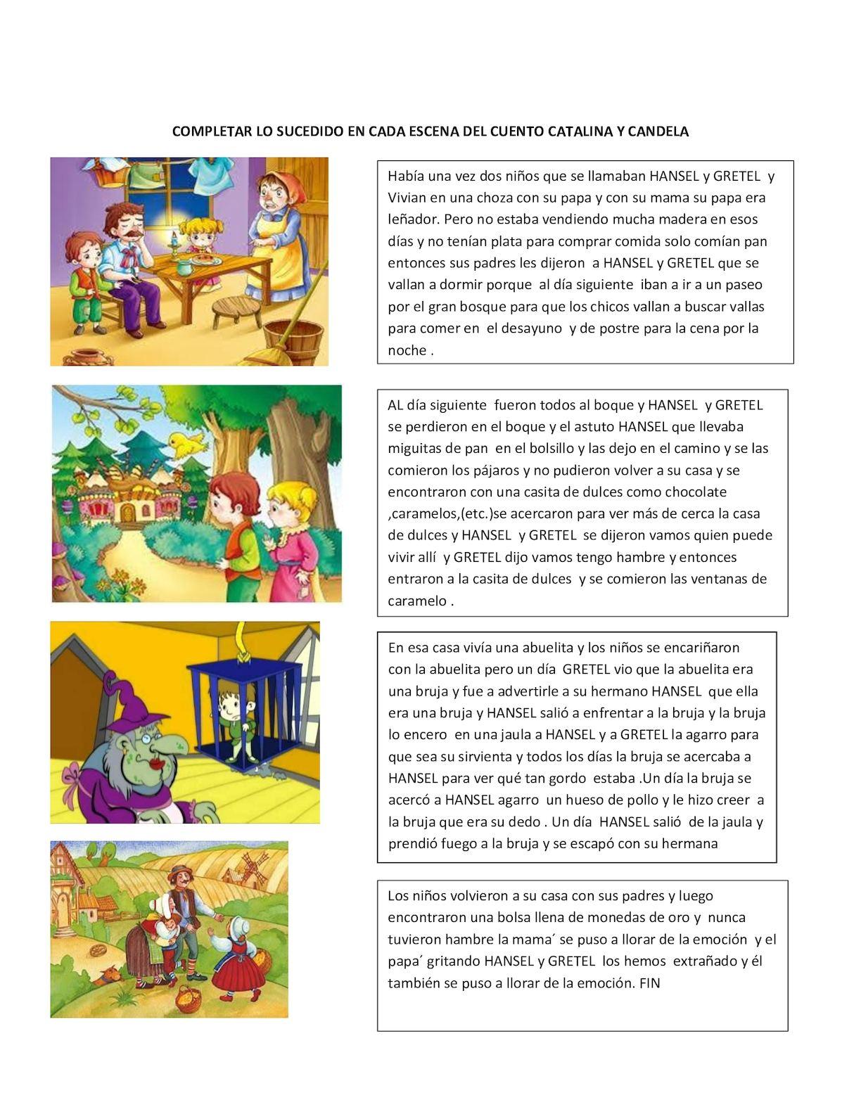 hansel y gretel cuento completo pdf