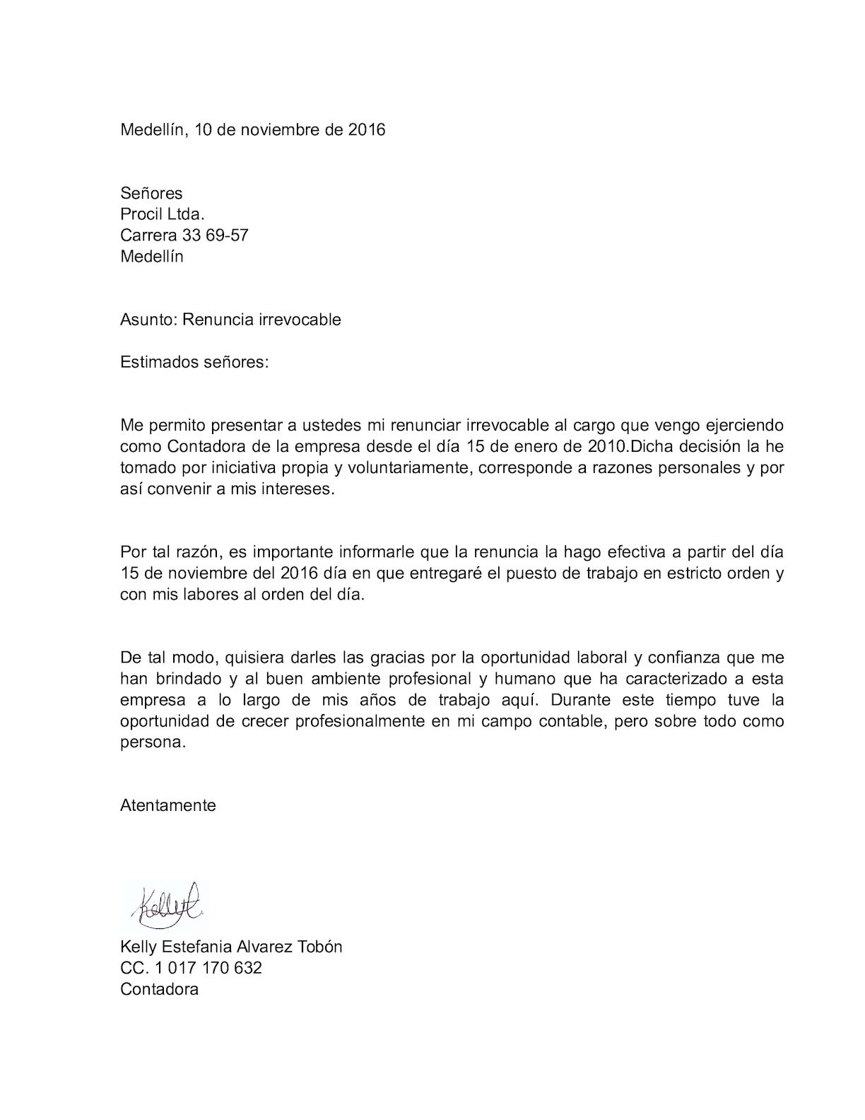Carta Renuncia Irrevocable Calameo Downloader