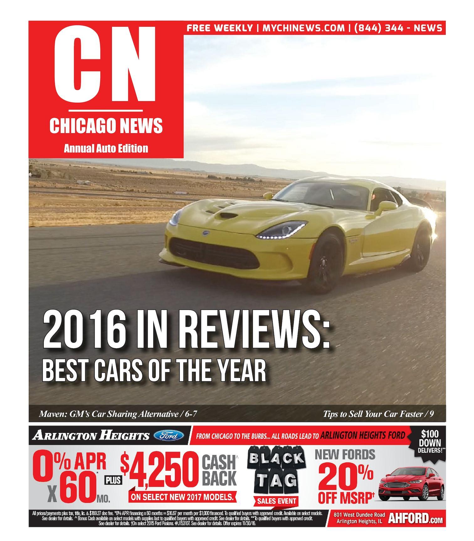 Calaméo - Chicago News | Annual Auto Edition