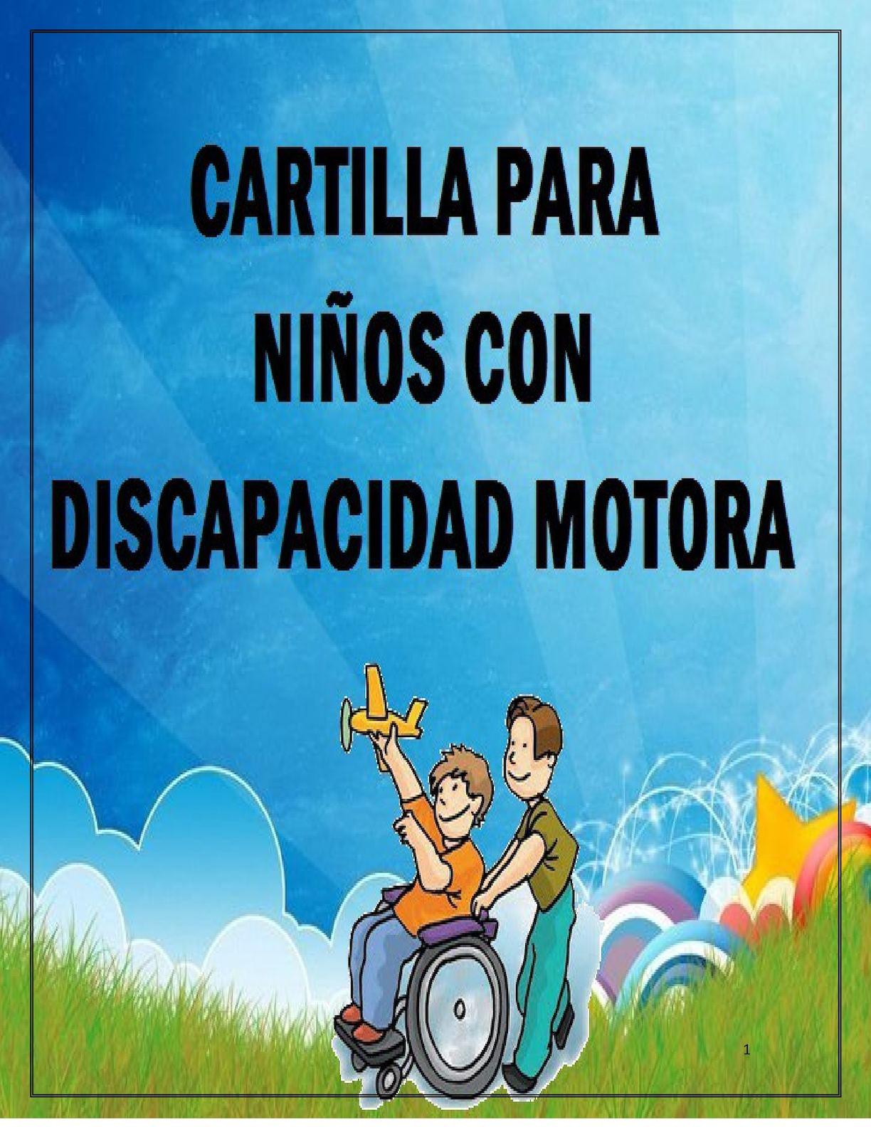 Calaméo Cartilla Para Niños Con Discapacidad Motora