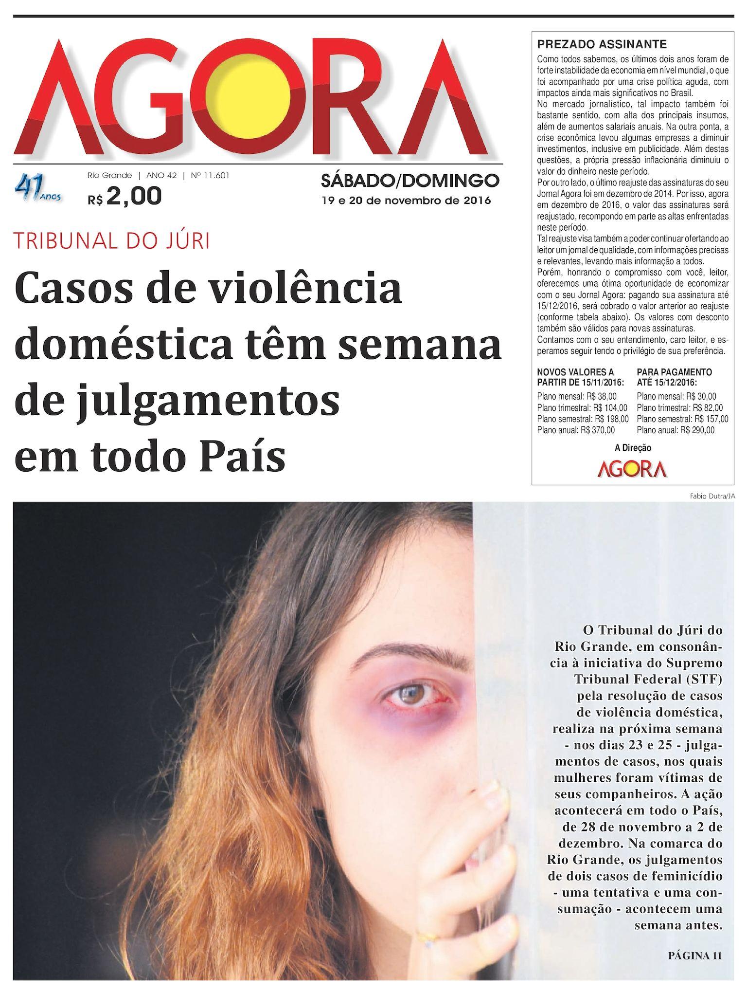 Calaméo - Jornal Agora - Edição 11601 - 19 e 20 de Novembro de 2016 baffc0320c