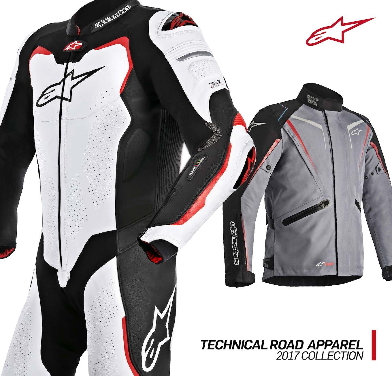 Alpinestars Stella T-Jaws Black Red Moto Ladies JacketAll Sizes White