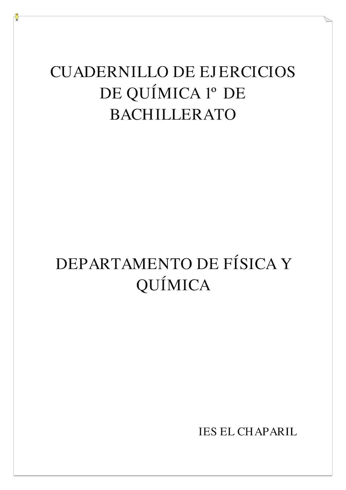 Calaméo Cuaderno De Problemas De Física Y Química
