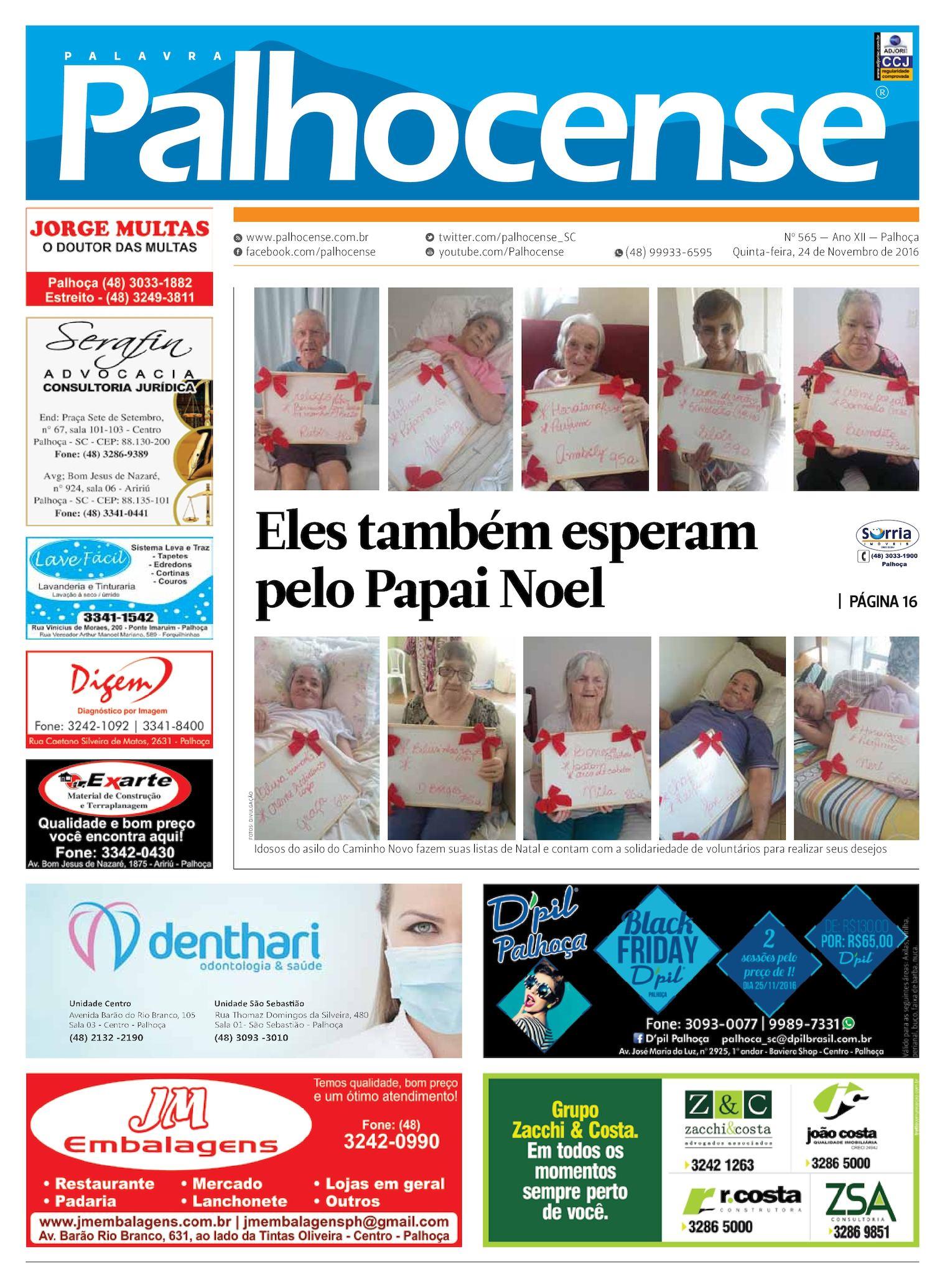 Calaméo - Jornal Palavra Palhocense - EDIÇÃO 565 d036ef8438