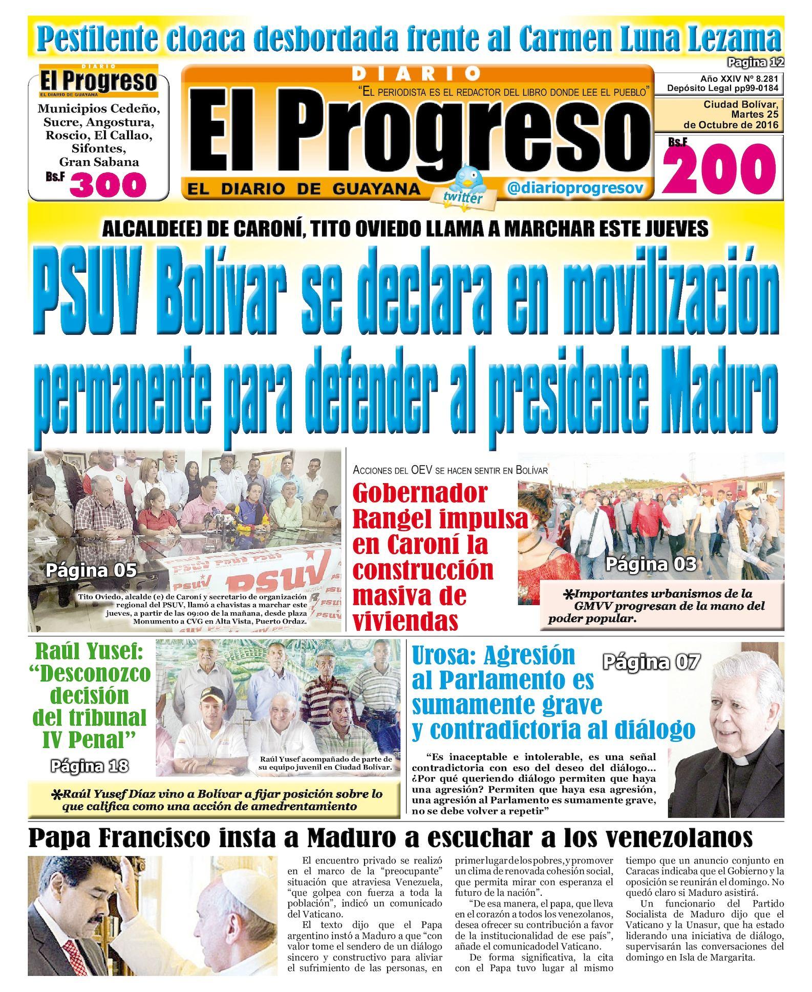 35ec31a93 Calaméo - Diarioelprogreso2016 10 25