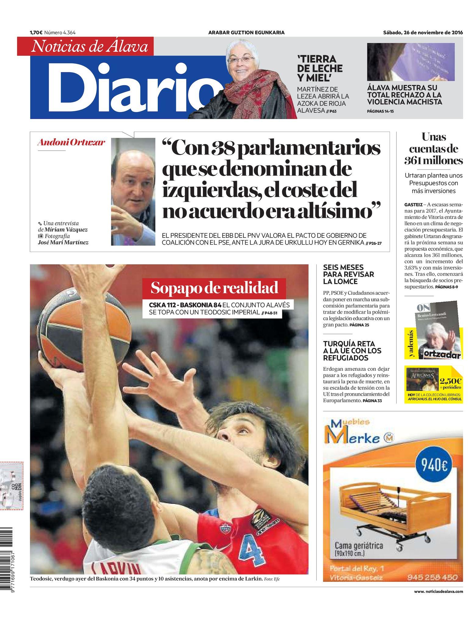 9234a8a02d Calaméo - Diario de Noticias de Álava 20161126