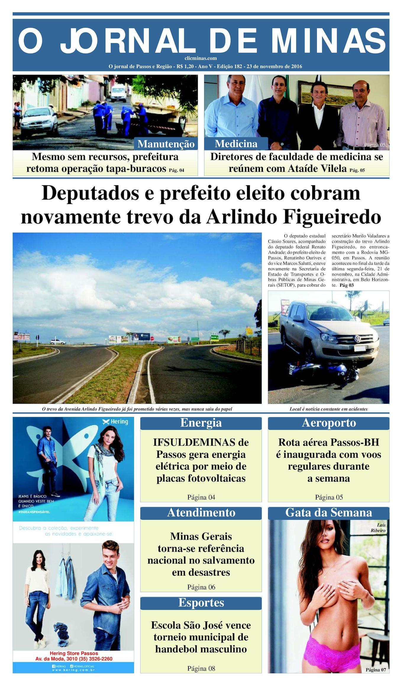 71a98f6f18 Calaméo - O Jornal De Minas Edição 182 De 23 De Novembro De 2016