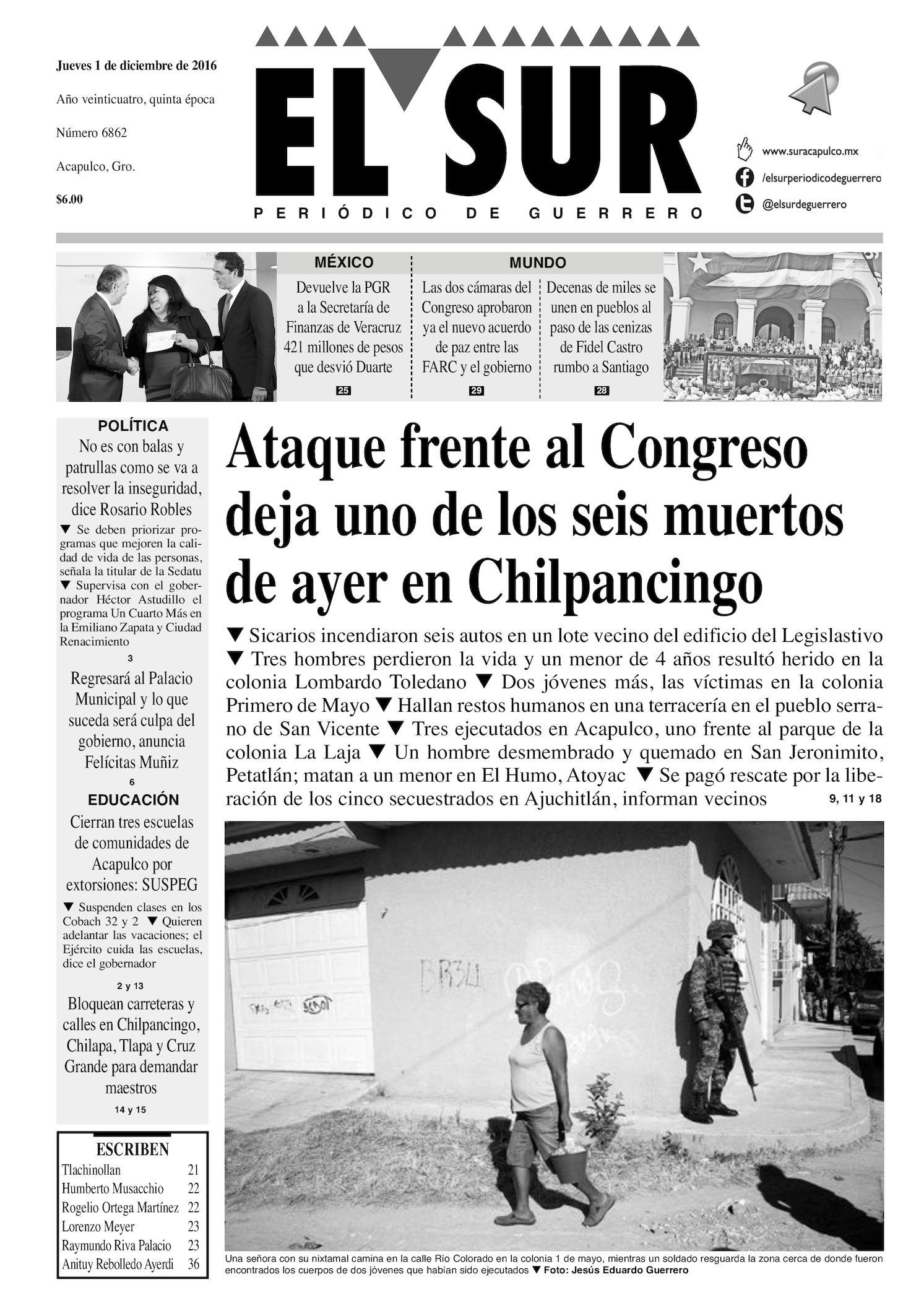 Calaméo - El Sur Jueves 01122016 fabbfa57d5dc