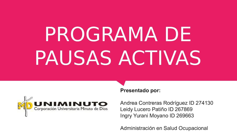 Calaméo - Programa Pausas Activas 4d9a5d360610