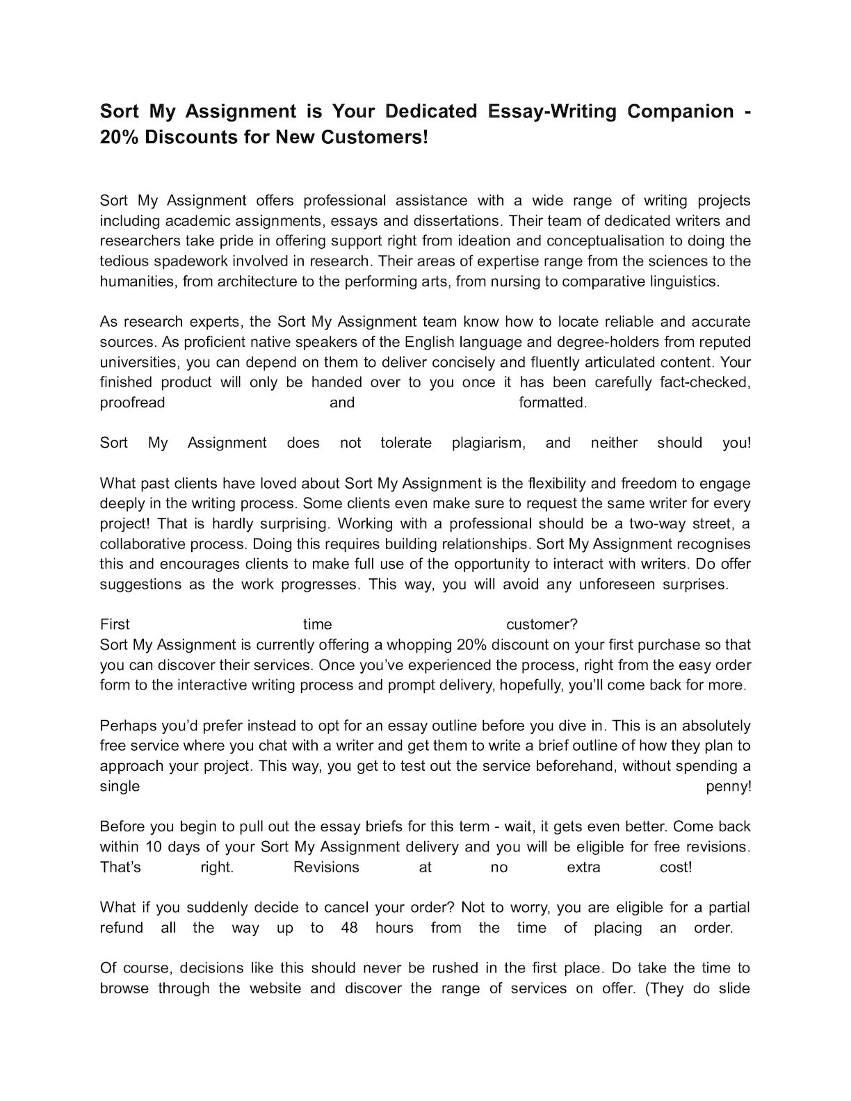 essay about companion