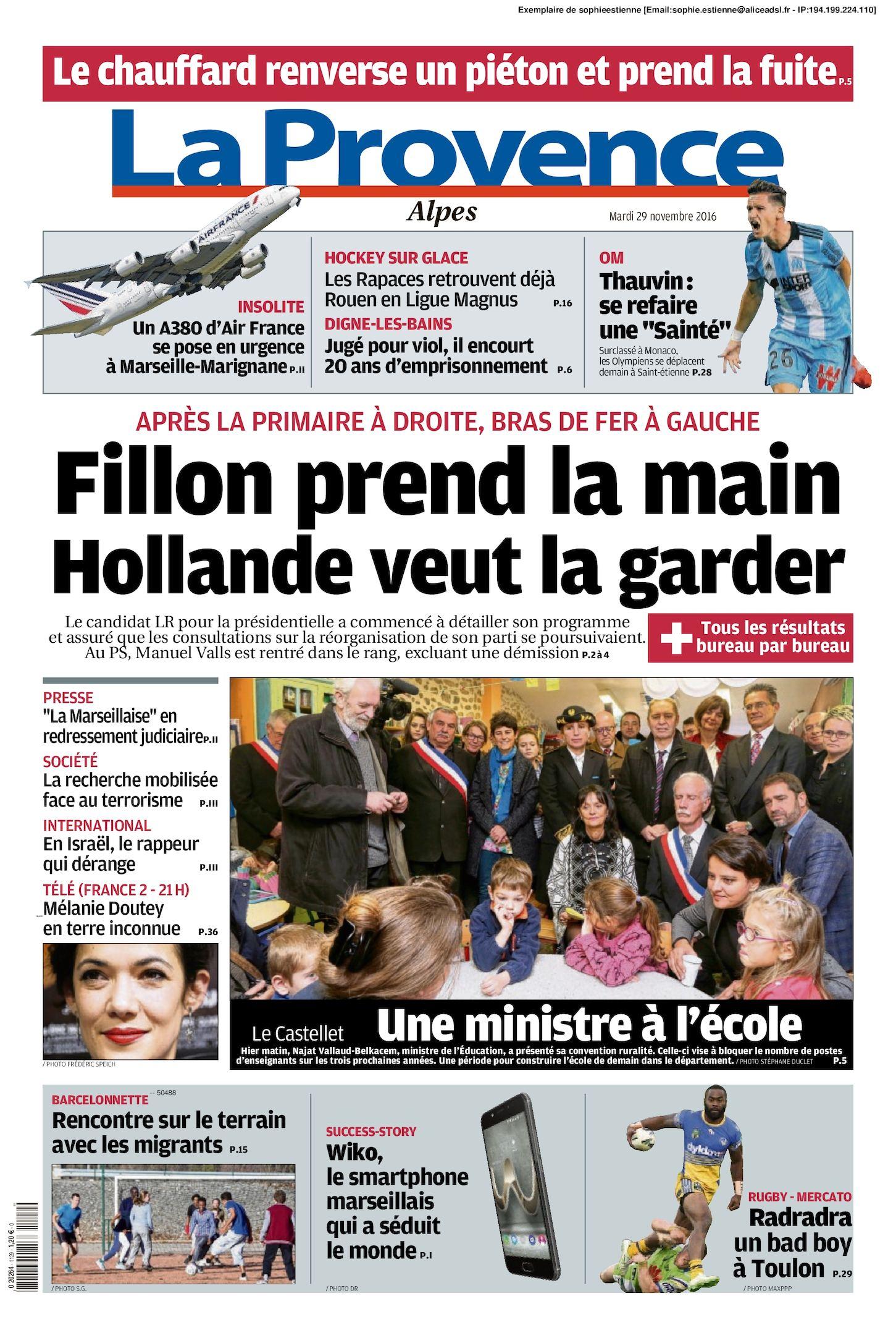 Calaméo - La Provence Edition Alpes Du 2016 11 29