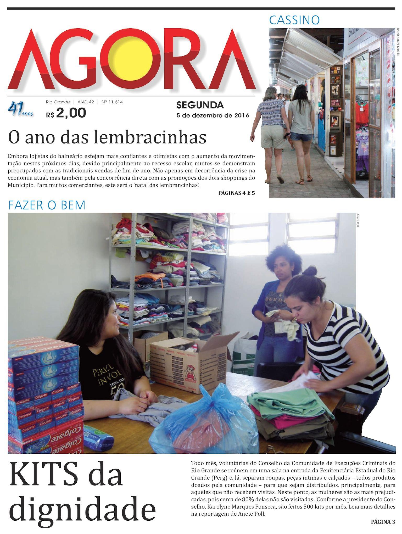 Calaméo - Jornal Agora - Edição 11614 - 5 de Dezembro de 2016 5087cae5b9