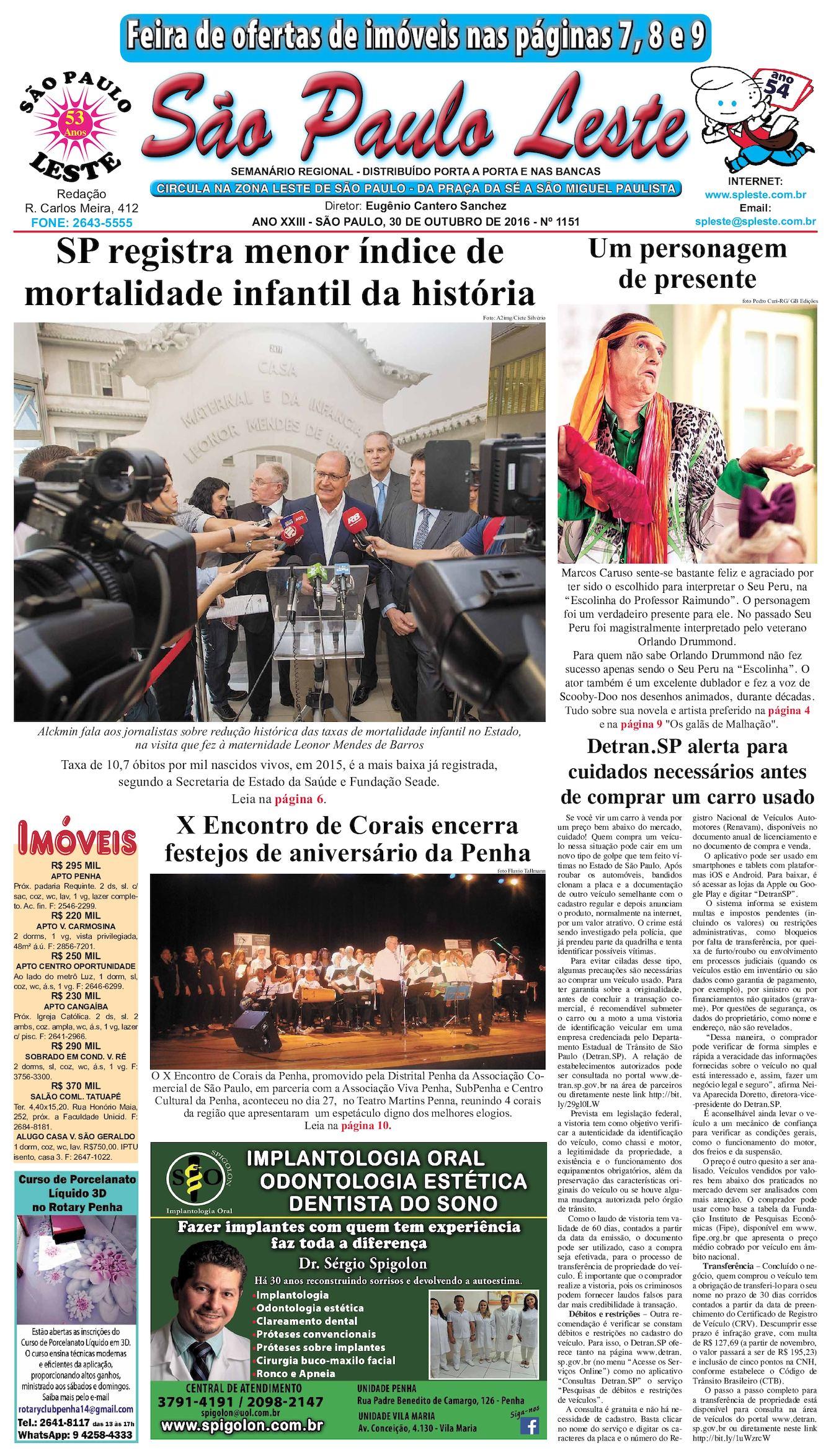 61518420e0b6d Calaméo - São Paulo Leste edição 1151 - 30.10.16