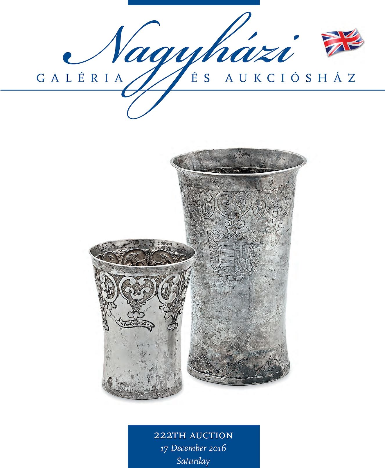 Nagyházi Gallery and Auction house - Auction 222