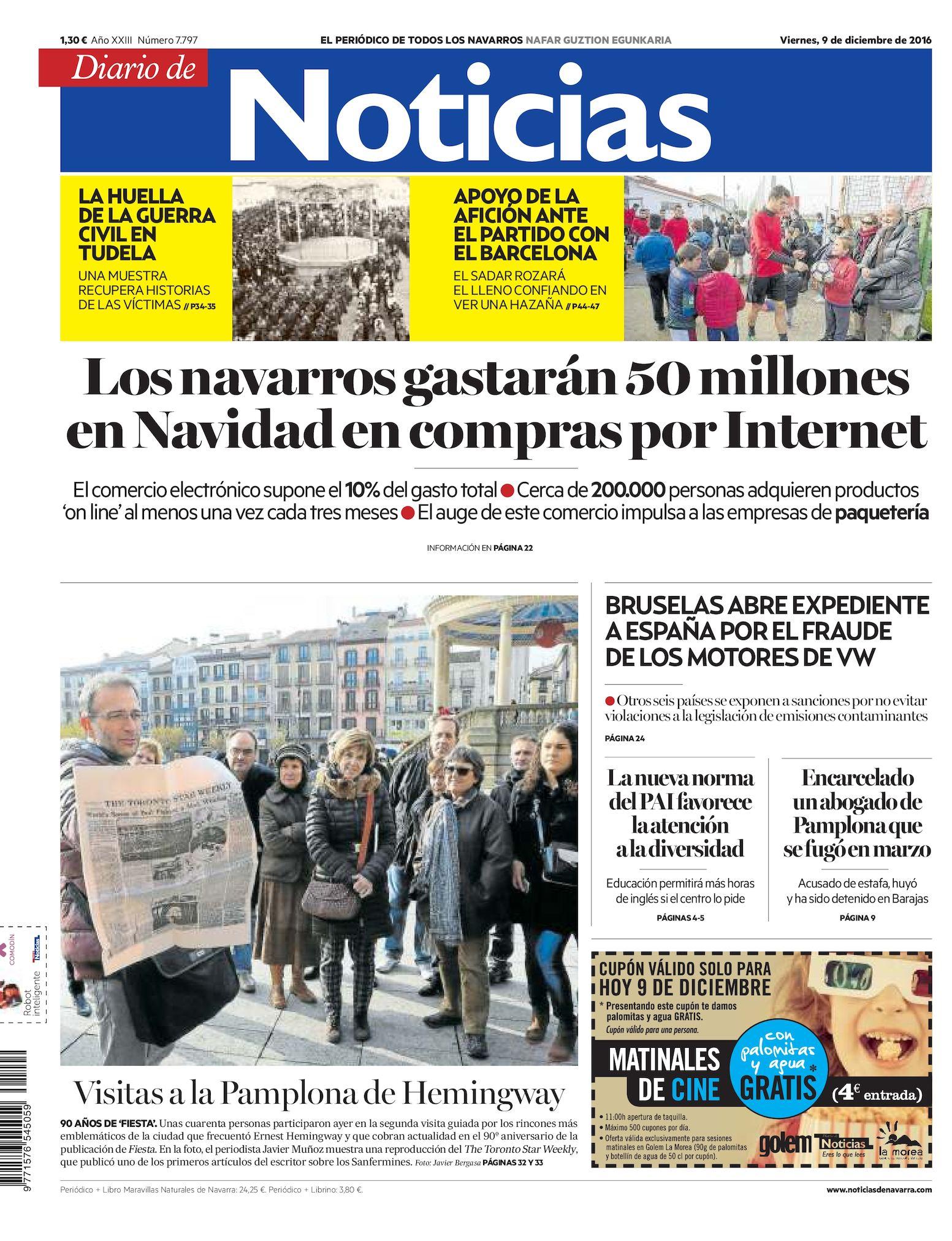 bcd44c04e0 Calaméo - Diario de Noticias 20161209