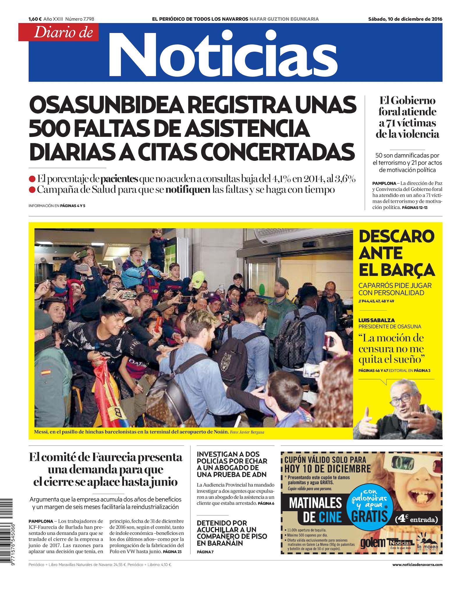 cc7781c18 Calaméo - Diario de Noticias 20161210