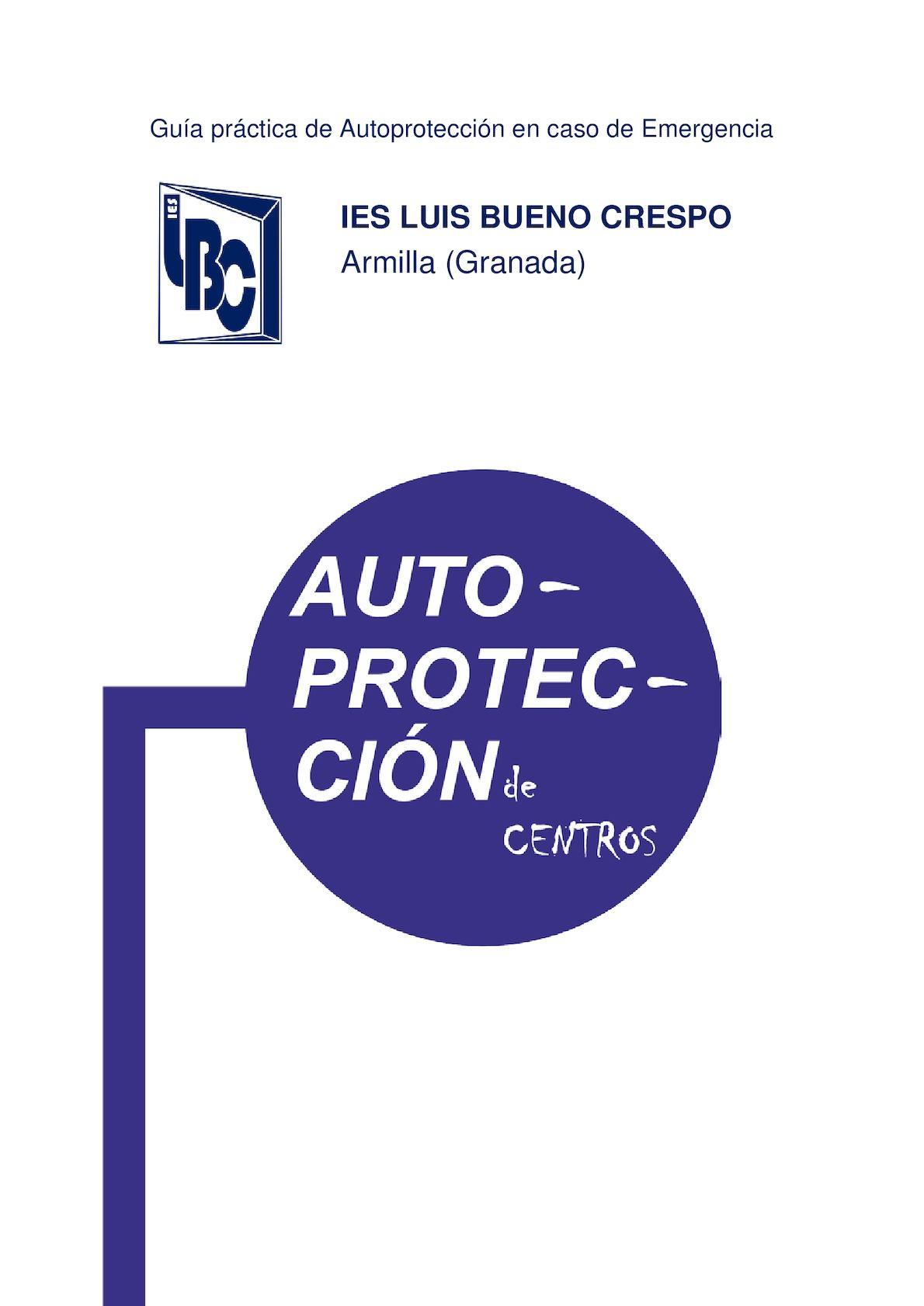 Guía De Autoprotección 2016 2017