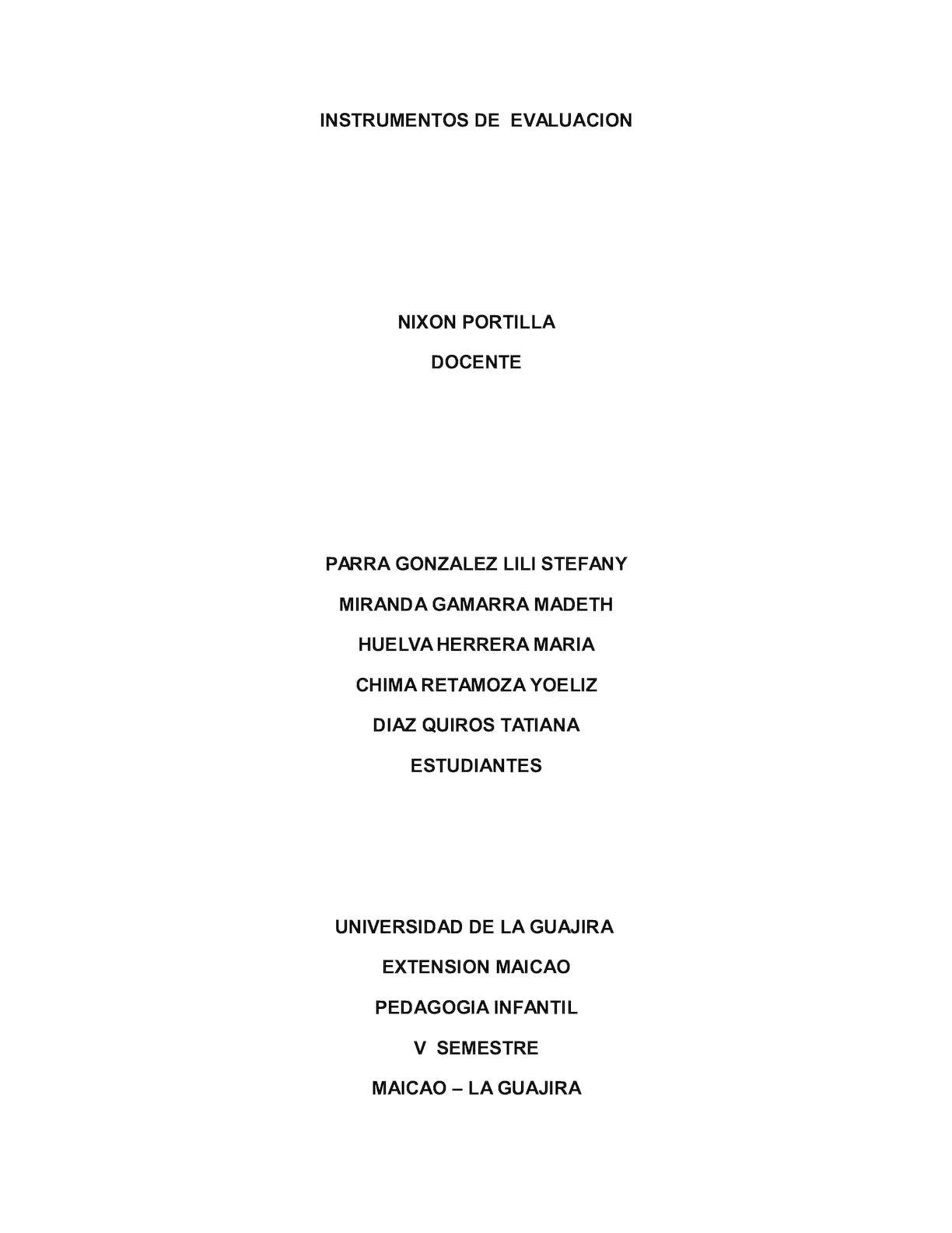 Nombre Caperucita Roja Version Porno calaméo - instrumentos d evaluacion