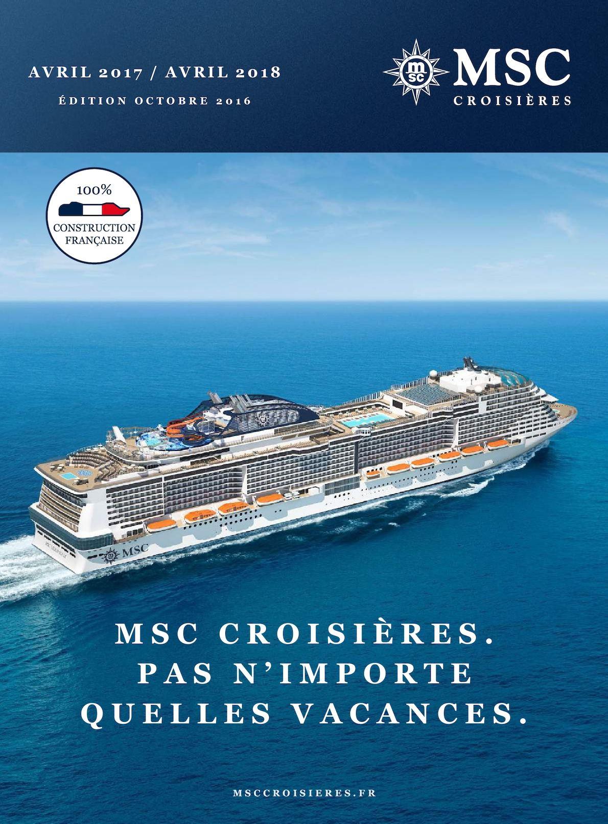 3cb58681525ef Calaméo - MSC Croisières - 2017   2018