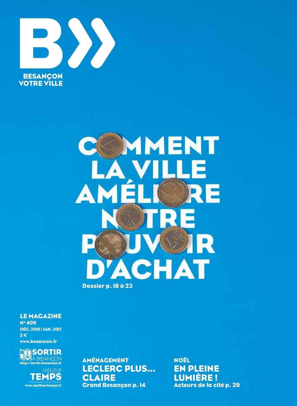 Calaméo Besançon Votre Ville N409 Decembre 2016