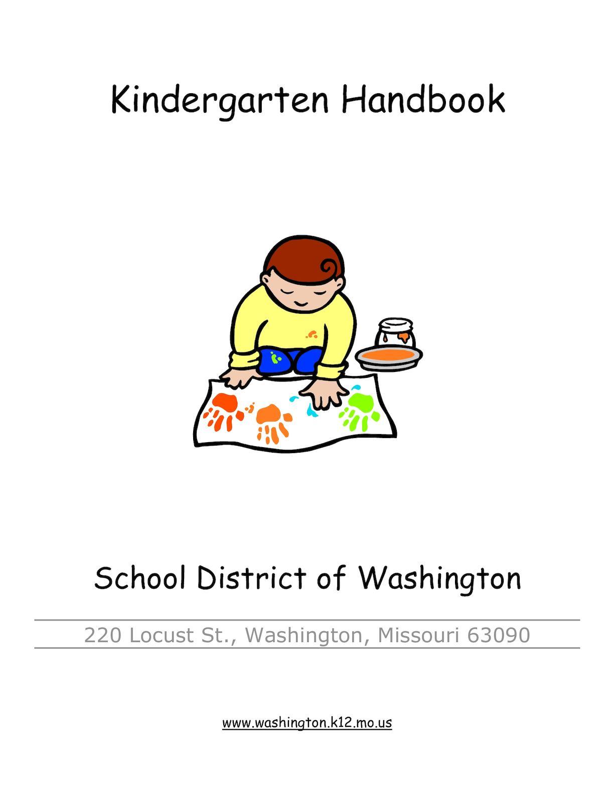 Calaméo - Kindergarten Handbook