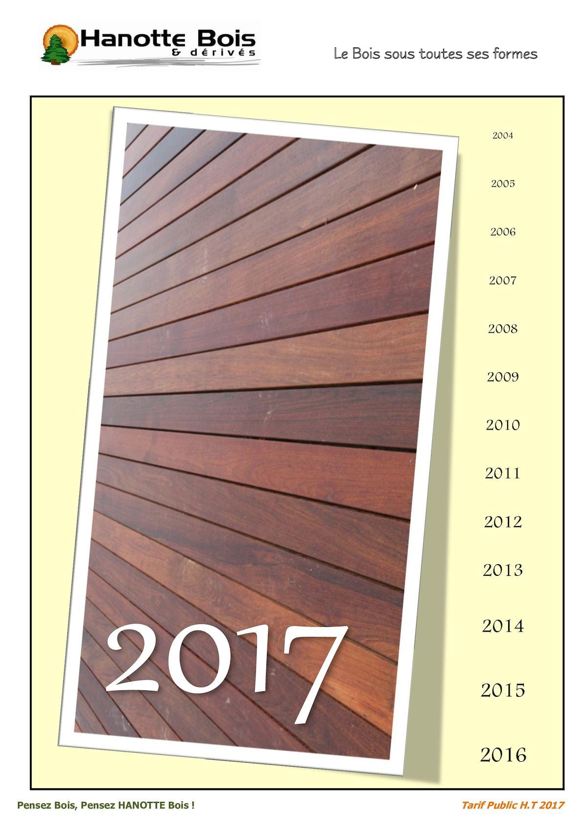 Bois Rétifié Prix M2 calaméo - catalogue 2017 - hanotte bois & dérivés