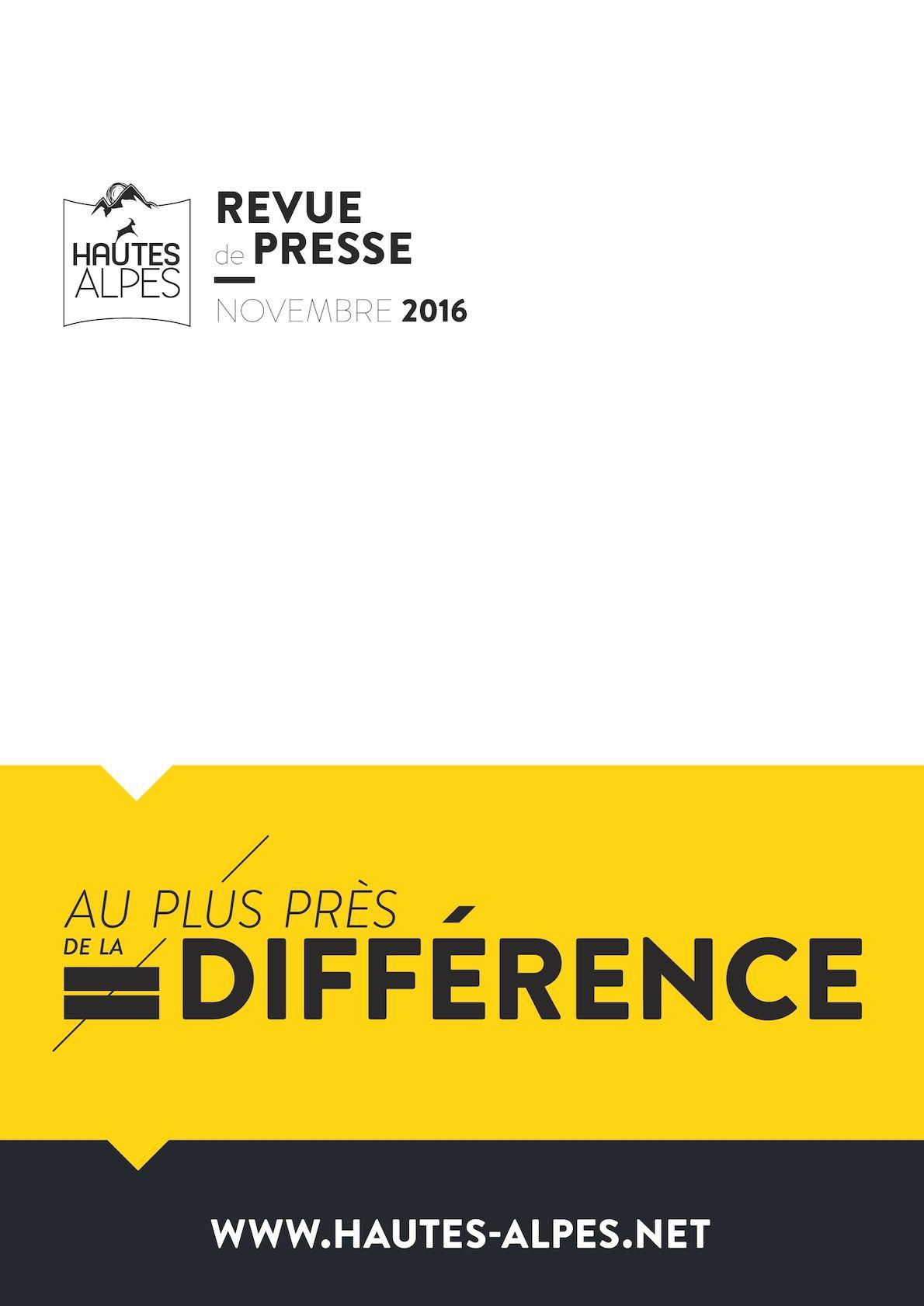 640f76badad60 Calaméo - Revue De Presse Hautes-Alpes Novembre 2016