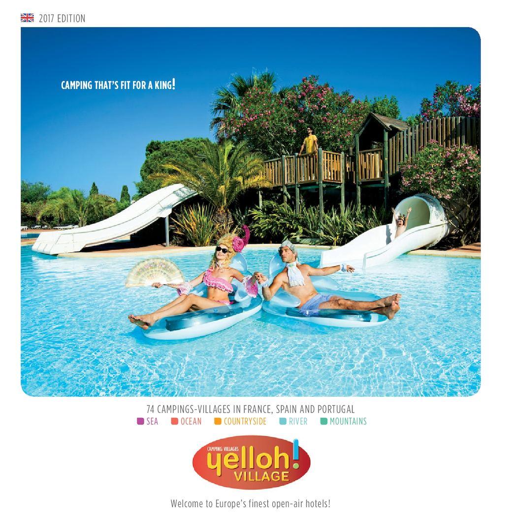 Pin Parasol Distance Maison calaméo - brochure yelloh! village 2017 uk