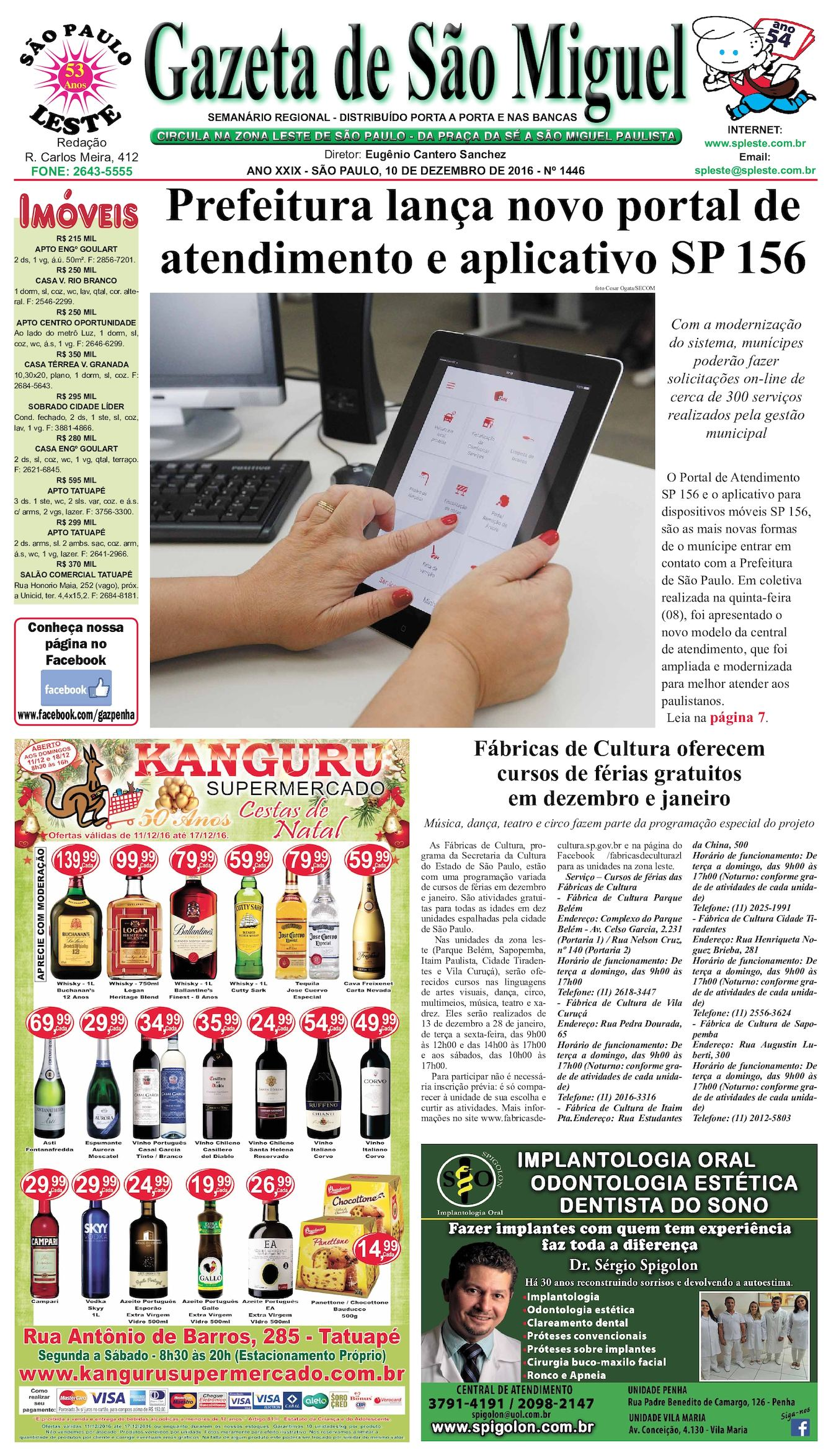 Calaméo - Gazeta de São Miguel edição 1446 11.12.16 40aa19dc84