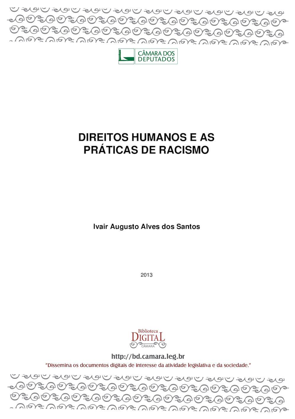 1324775f8 Calaméo - Direitos Humanos e Racismo