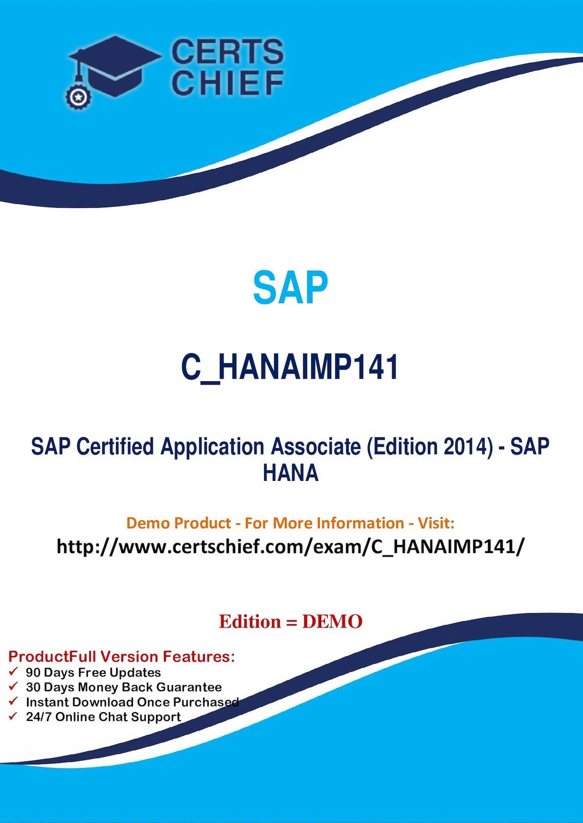 Calaméo - C HANAIMP141 Exam Certification Questions