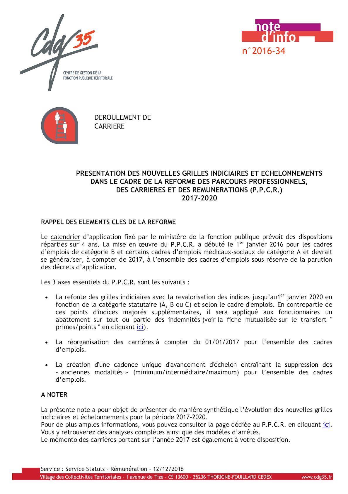 36416c37ff9 Calaméo - Presentation Synthetique Grilles Et Echelonnements Ppcr 2017