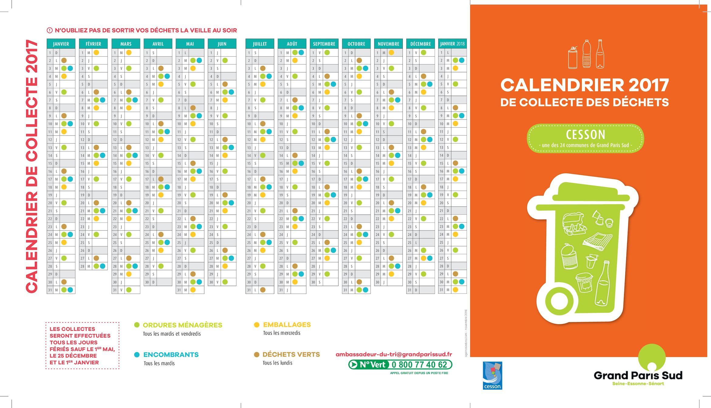 Calendrier Encombrants 77.Calameo Calendrier Collecte Dechets Cesson