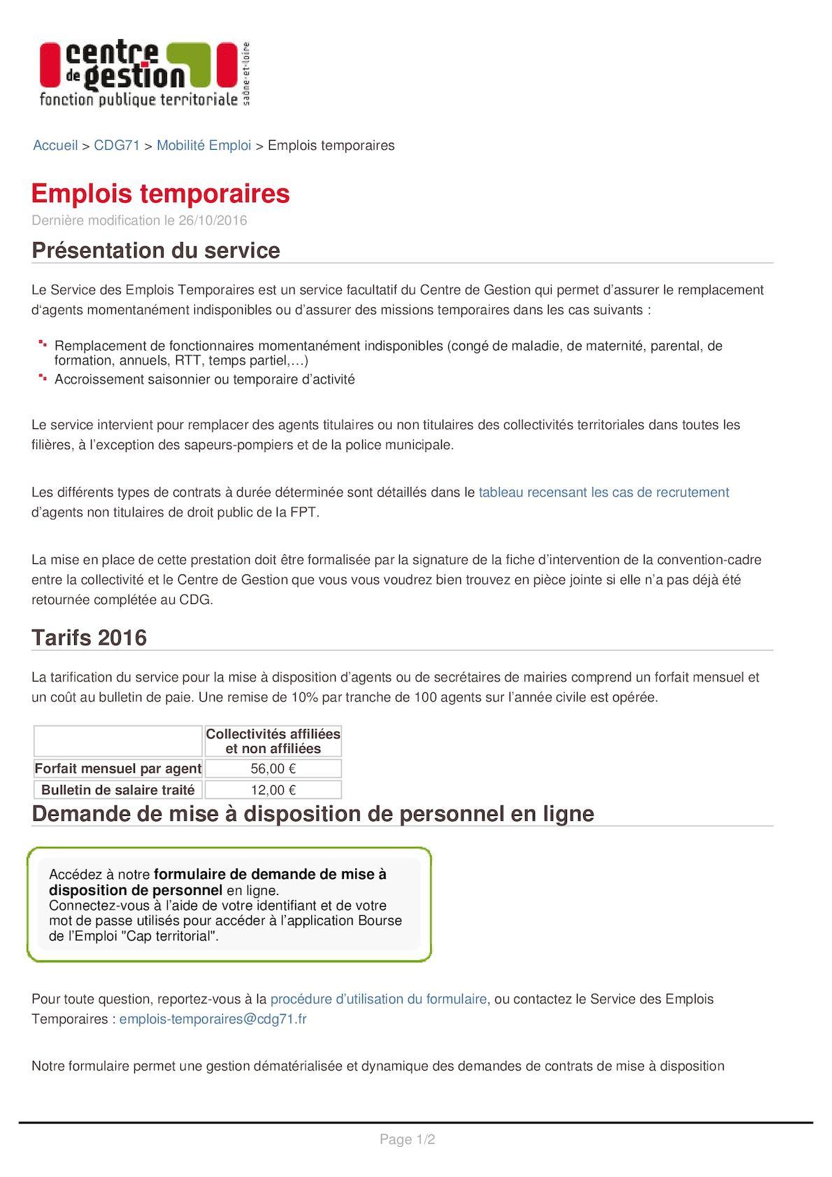 91ee593af64 Calaméo - 35 Emplois Temporaires