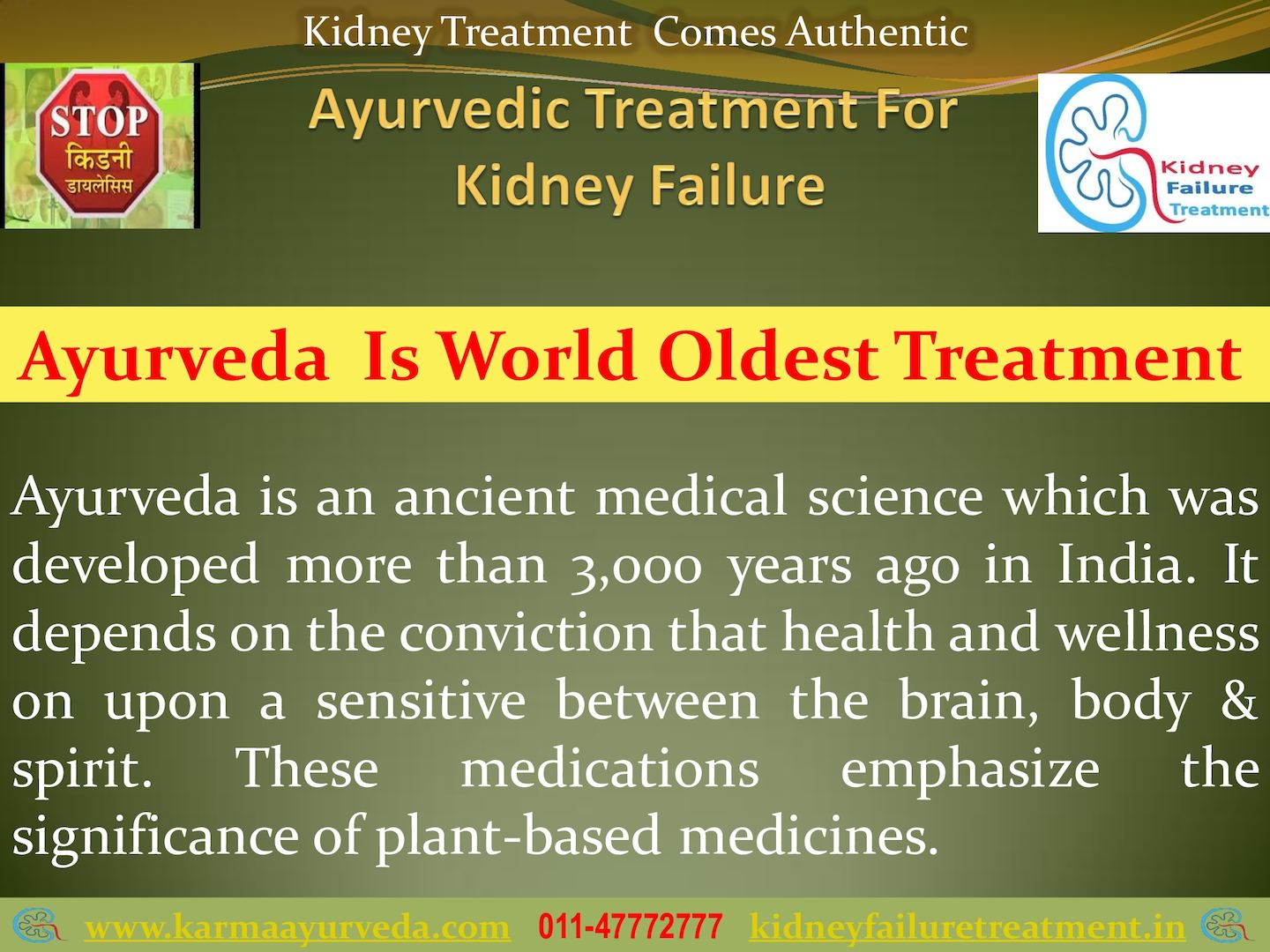 Ayurvedic Treatment For Kidney Failure Karma Ayurveda Calameo Downloader