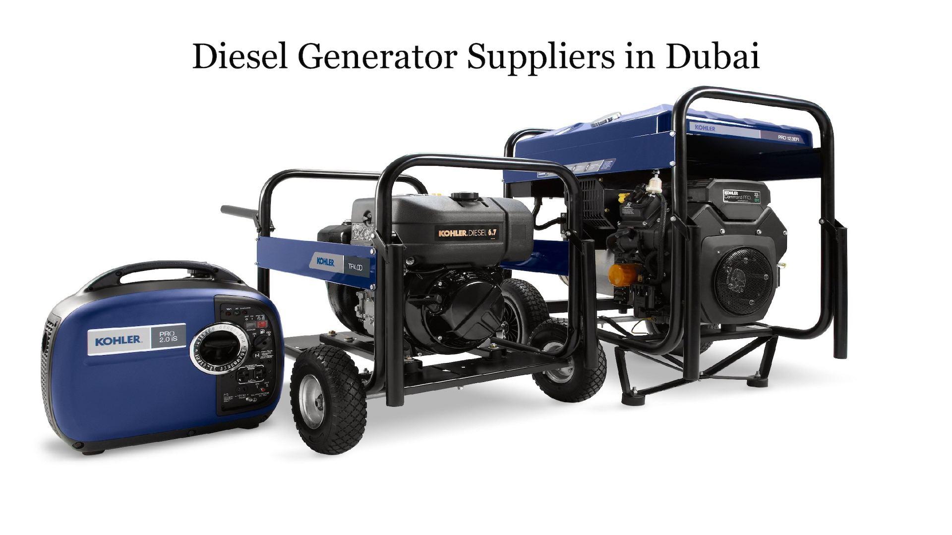 Calaméo - Diesel Generator Suppliers in Dubai