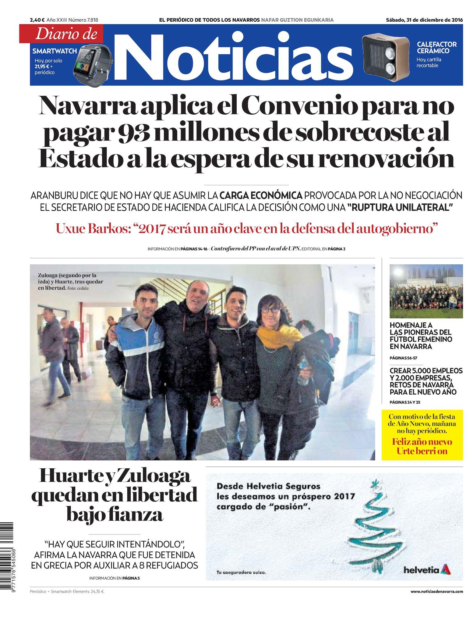 22ec2d45d Calaméo - Diario de Noticias 20161231