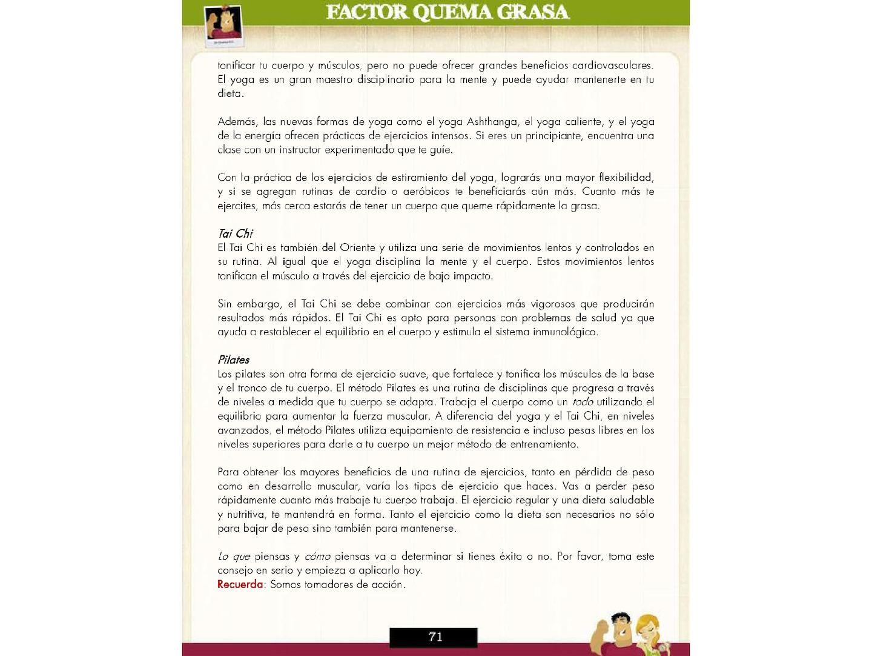 Rutinas de ejercicios para bajar de peso pdf download