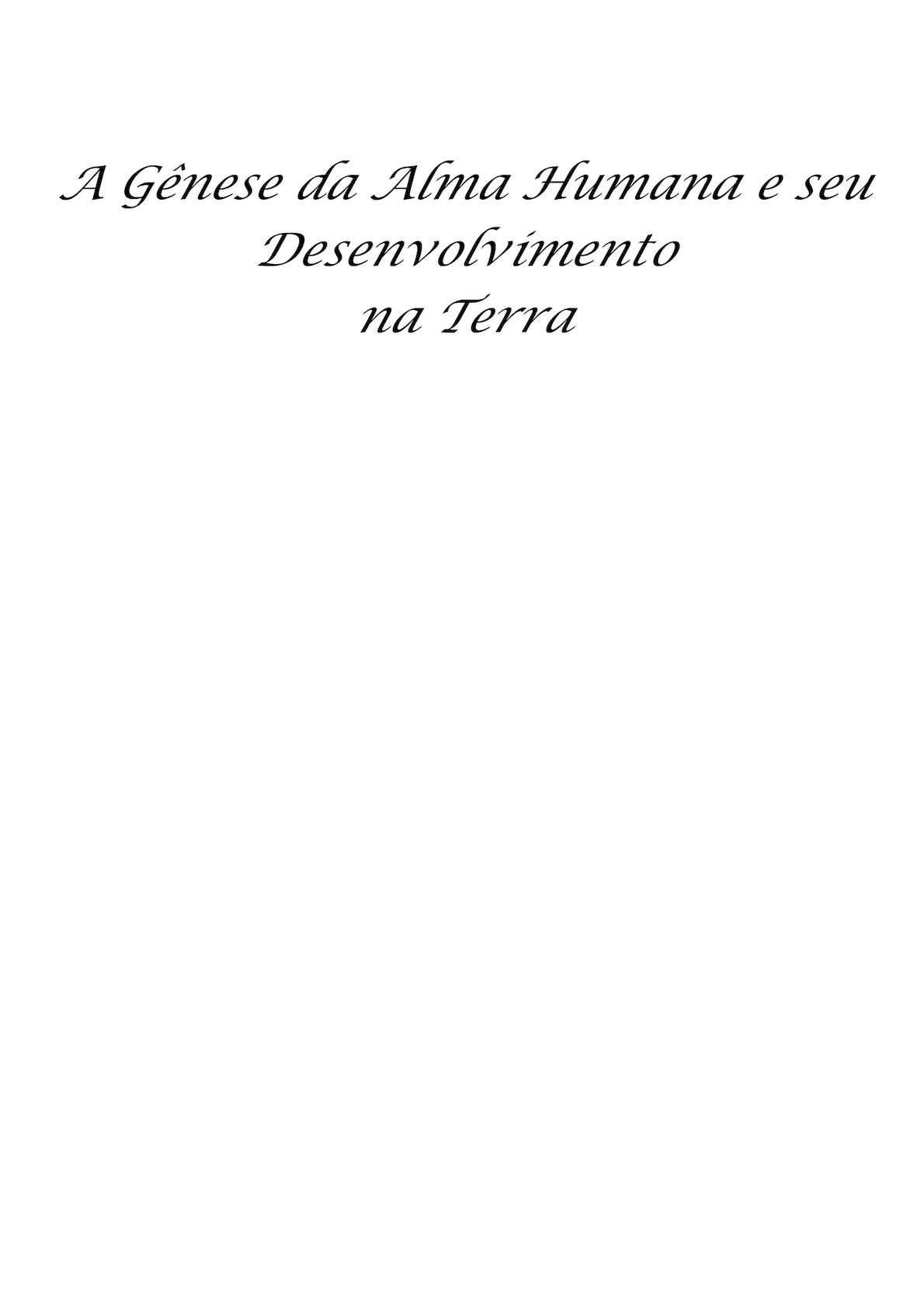 Calaméo - A Gênese Da Alma Humana E Seu Desenvolvimento (Word To Pdf) 830b7dd1c737f