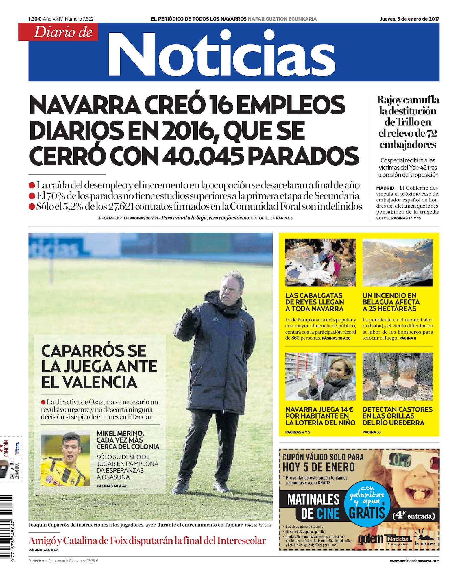 promo code be4d9 f117b Calaméo - Diario de Noticias 20170105