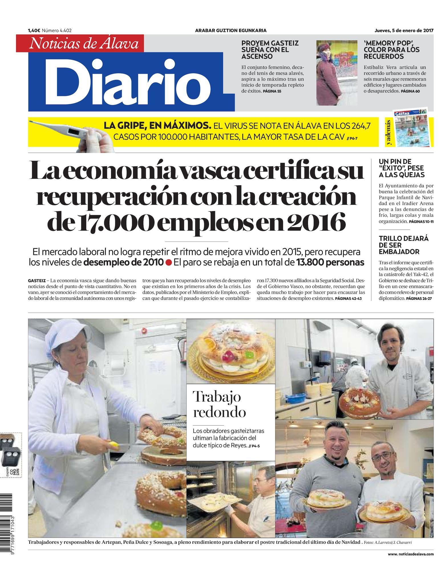 8e1361713e60 Calaméo - Diario de Noticias de Álava 20170105