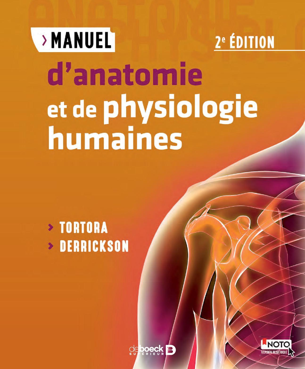 ANATOMIE PHYSIOLOGIE HUMANE PDF
