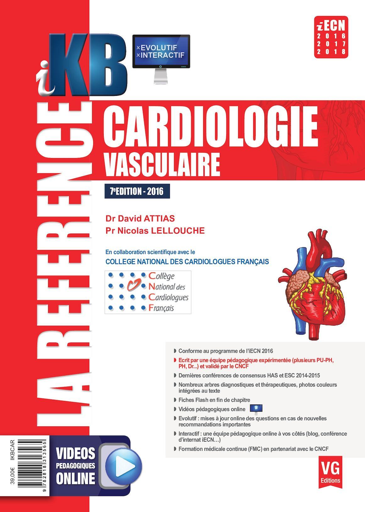 kb cardiologie 2016
