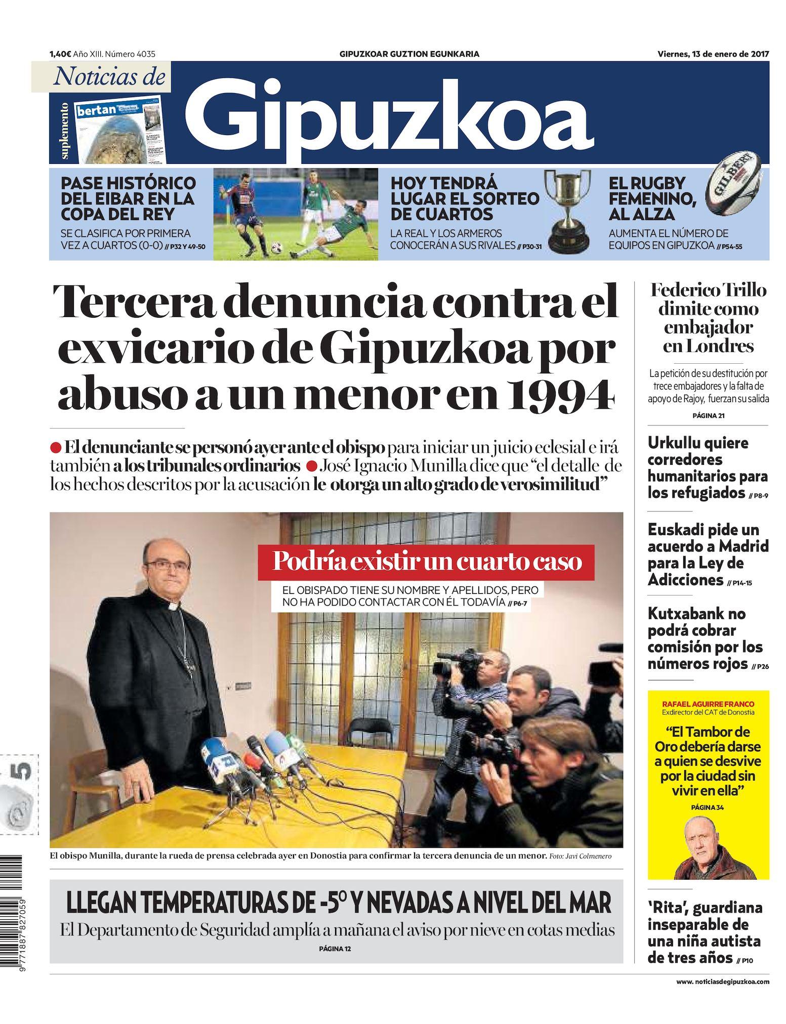 De Calaméo 20170113 Noticias De Noticias Calaméo Noticias Gipuzkoa 20170113 Gipuzkoa Calaméo De 5Rc3q4AjL