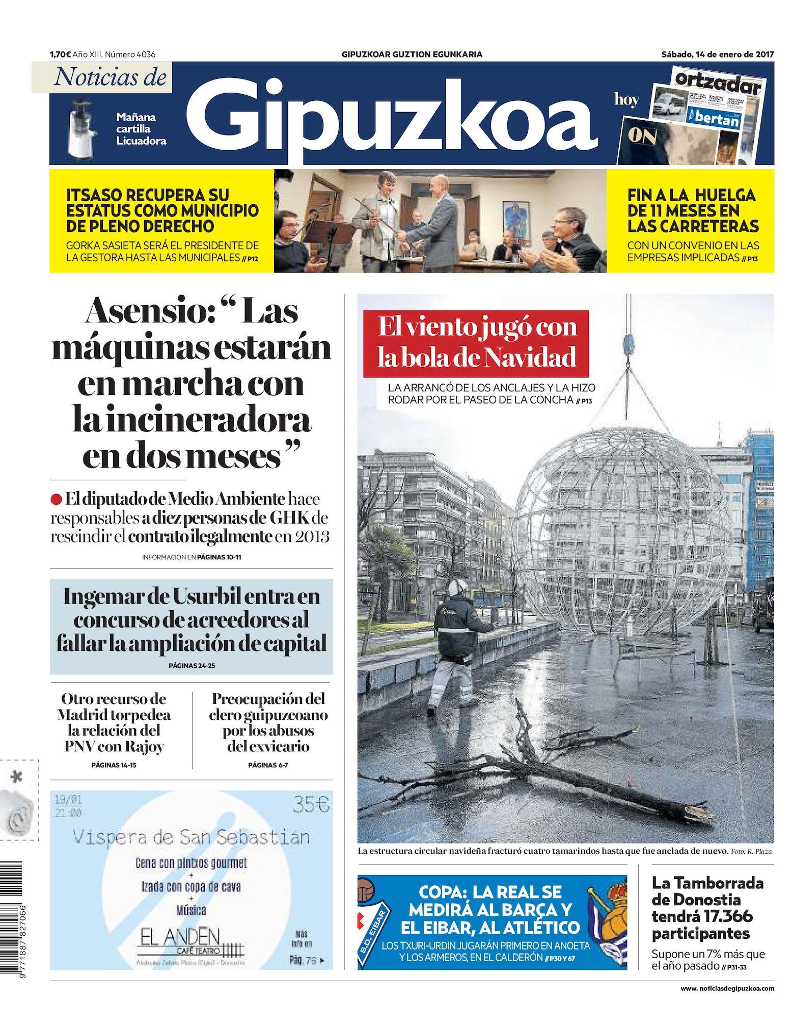 befc3ac184 Calaméo - Noticias de Gipuzkoa 20170114