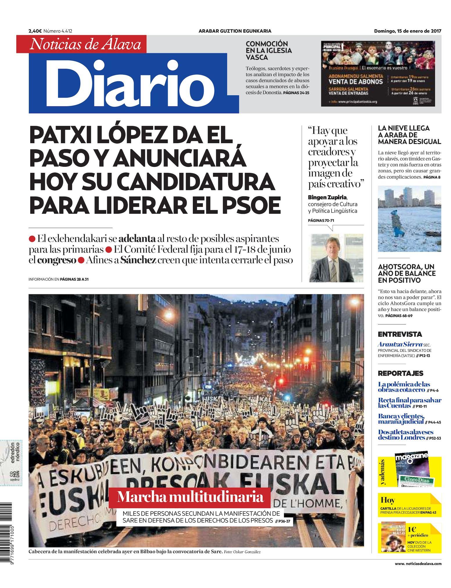33ce6b26850 Calaméo - Diario de Noticias de Álava 20170115
