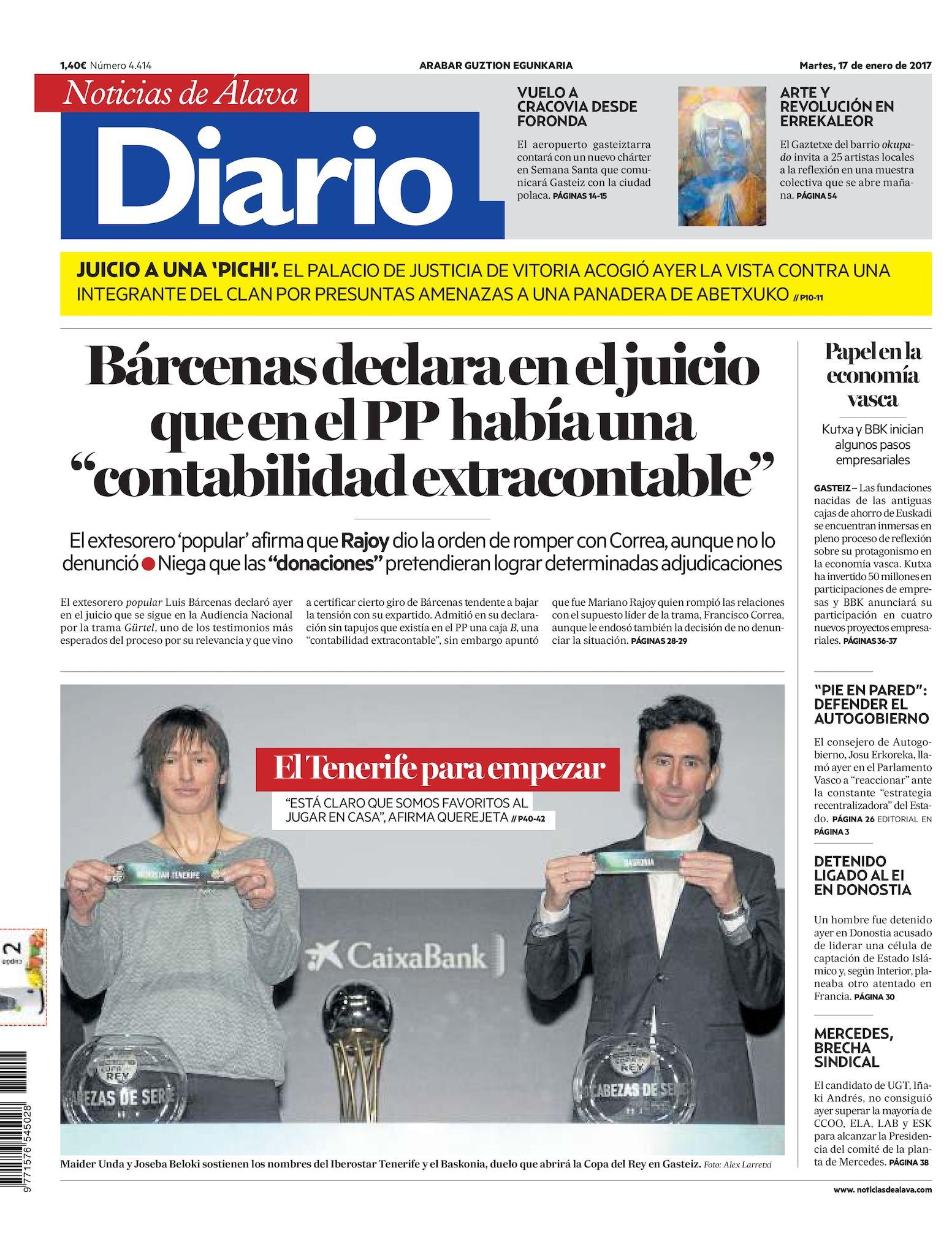 buy popular 6646a 02ca9 Calaméo - Diario de Noticias de Álava 20170117
