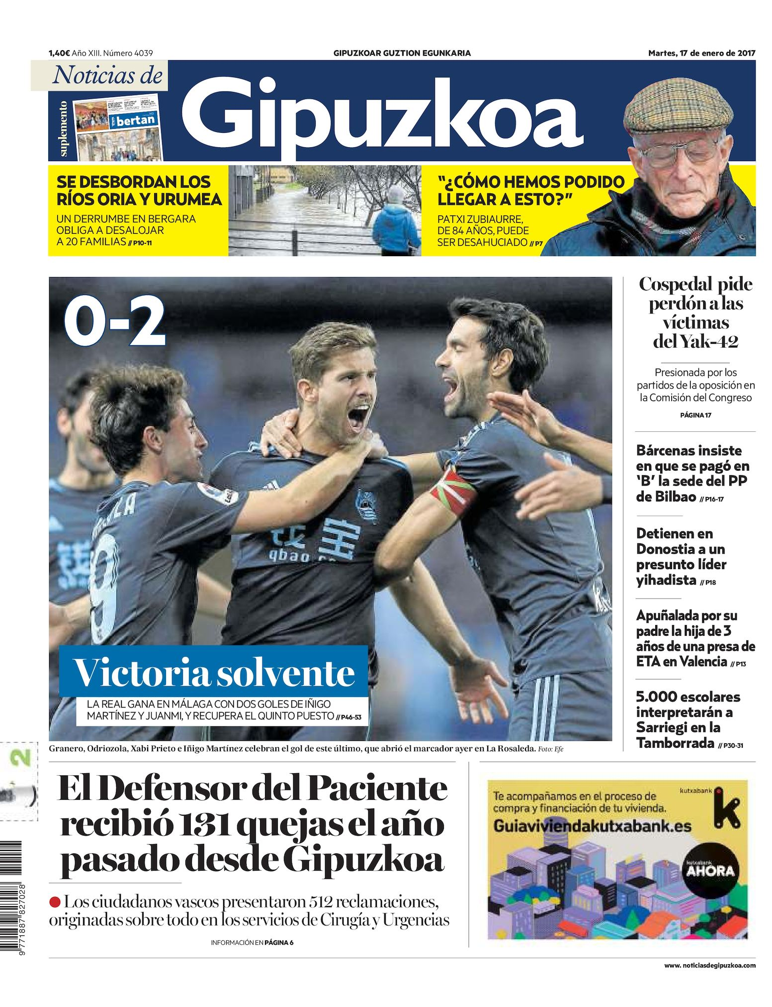 Calameo Noticias De Gipuzkoa 20170117