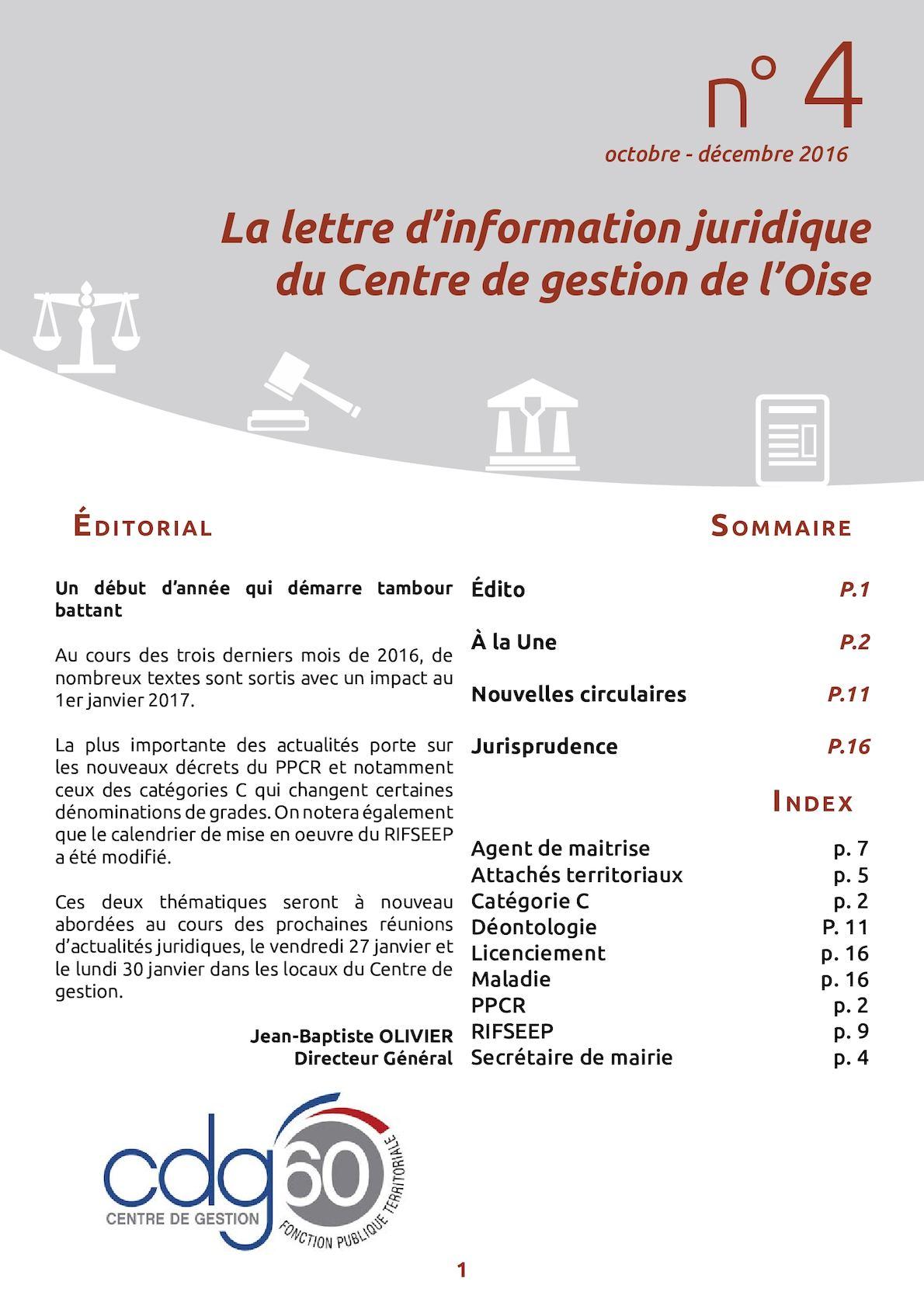 23751e9cfe0 Calaméo - La Lettre Information Juridique n°4 janvier 2017